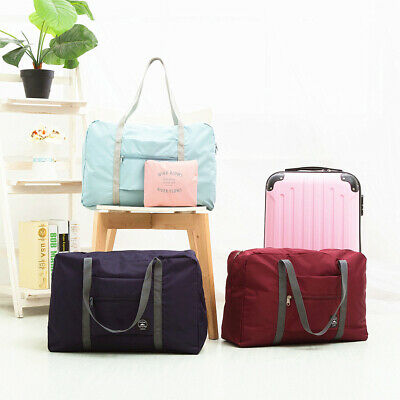 Foldable Large Duffel Bag Luggage Storage Bag Waterproof Travel Pouch Bag Durabl