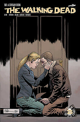 The Walking Dead #167 - 1St Print - Image - Bagged And Boarded. Free Uk P+P