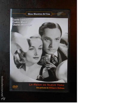 Dvd La Reina De Nueva York - William A. Wellman (5P)