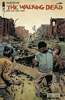 The Walking Dead #188 - 1St Print - Image - Bagged And Boarded. Free Uk P+P