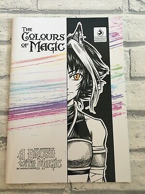 RARE Signed Sonia Leong Artbook A Brush With Magic The Colours of Magic Manga