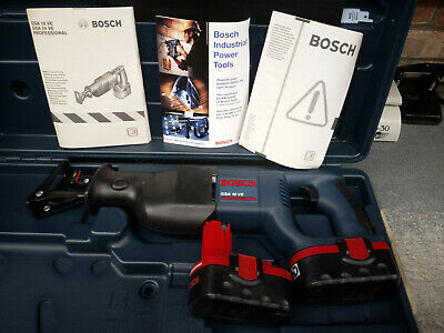 Bosch Gsa18V Recip Saw- Brand New Surplus 2 Batts No Charger