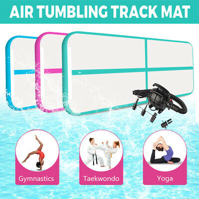 Air Track Inflatable Floor 3m 4m 5m 6m 8m Home Gymnastics Tumbling Mat with Pump