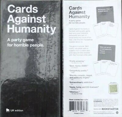 Cards Against Humanity UK Edition Card Game. New. Sealed.