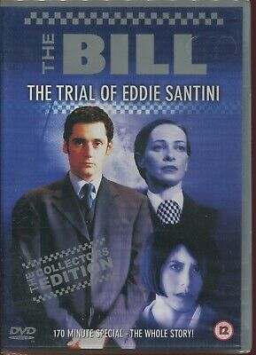 The Bill - The Trial Of Eddie Santini (DVD, 2002) NEW SEALED