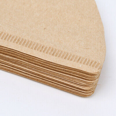 V60 Coffee Paper Filter Flexible Sheets White Unbleached Wooden Paper
