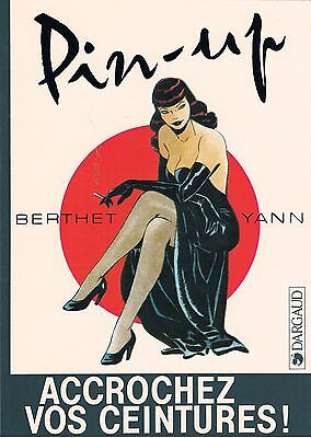 Autocollant Berthet - Pin-up