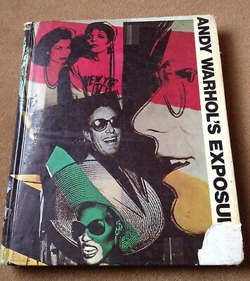 Andy Warhol's Exposures, 1st ed 1979