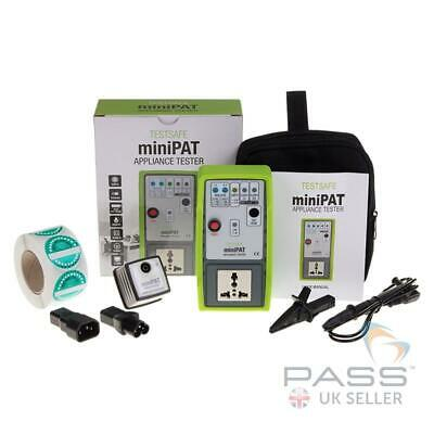 *NEW* TestSafe MiniPAT Appliance Checker + Free Adaptors & Labels / Quick & Easy