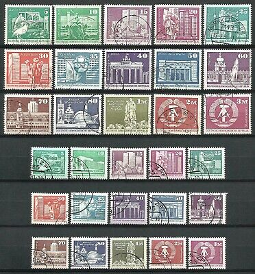 Germany (East) DDR GDR 1970s/1980s used Defins Aufbau Rebuilding small large #50