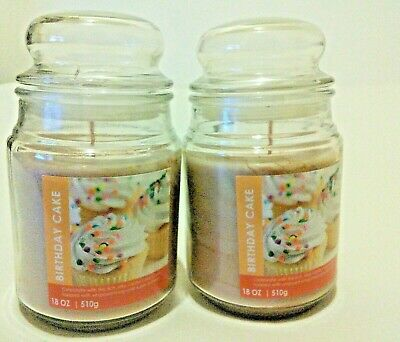Candle Birthday Cake  Vanilla scented  18 oz 510 g from Clintons