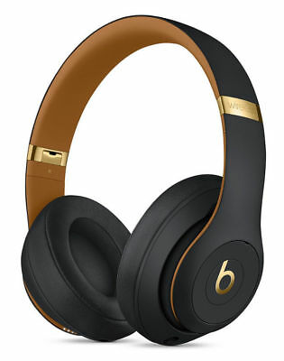 Beats by Dr Dre Studio 3 Wireless Headphones - Skyline Collection Midnight Black