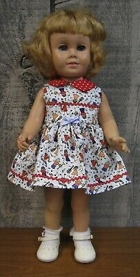 """New  Adorable Summer  Dress And Panties Set For The 20""""  Chatty Cathy Doll"""