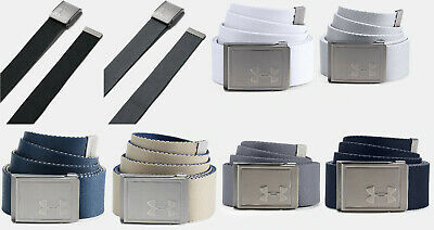 d327fbe4ab UNDER ARMOUR UA Golf Men's Braided Belt Size: W36 Steel Gray Stretch ...