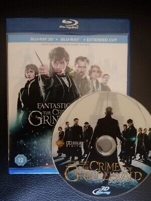 Fantastic Beasts; The Crimes of Grindelwald (2018, Blu-ray 3D disc)