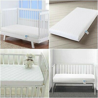 Anti Allergy Cot Bed Foam Mattress Breathable Toddler Bedding All Uk Sizes Bed