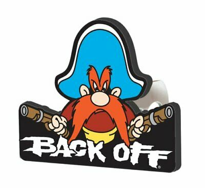 Yosemite Sam Back Off Hitch Cover