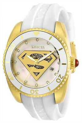 Invicta 29296 DC Comics Lady 38mm Stainless Steel Gold White Dial Watch
