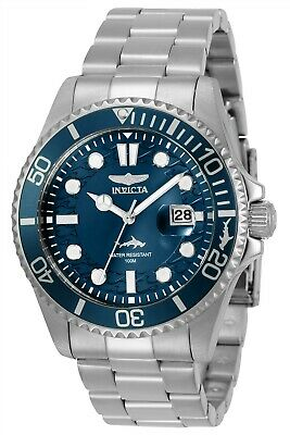 Invicta 30019 Pro Diver Men's 43mm Stainless Steel Blue Dial Watch