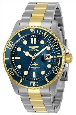 Invicta 30021 Pro Diver Men's 43mm Stainless Steel Blue Dial Watch