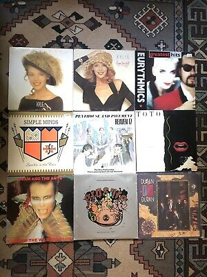 Wholesale Job Lot Vinyl Records X39 Pop Indie New-Wave Post-Punk Electro Synth