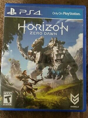 Horizon Zero Dawn Ps4 Game GREAT CONDITION  Pre Owned