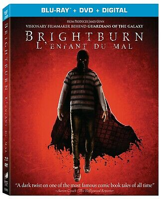 BRIGHTBURN (2019) [Blu-ray+DVD+Digital] New !! Pre-order Aug 20 (Free Shipping)