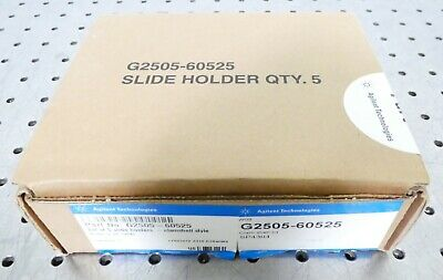 R160942 Agilent G2505-60525 Slide Holder - Clam Shell Style - Box of Five