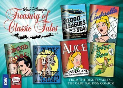 Walt Disney's Treasury Of Classic Tales, Vol. 1 by Jesse Marsh 9781631407185