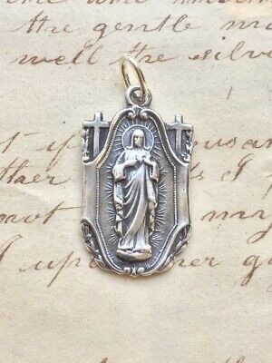 Sacred Heart of Jesus / Our Lady of Mount Carmel Scapular Medal