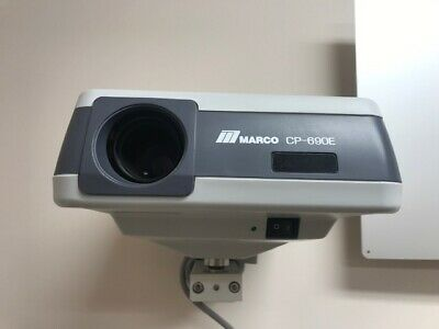 Marco CP-690E Auto Chart Projector with Remote and wall mount