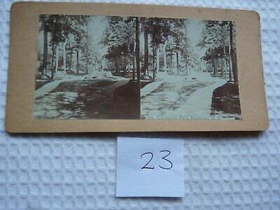 Rare image - ROCHESTER, N.Y. -UK Antique Stereoview (Albumen type)-early 1900's