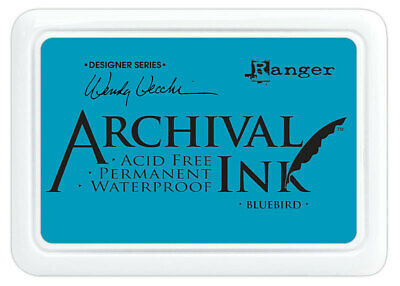 Ranger Archival Ink Stamp Pad Bluebird