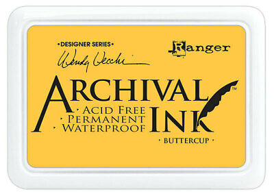 Ranger Archival Ink Stamp Pad Buttercup
