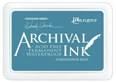 Ranger Archival Ink Stamp Pad Cornflower Blue