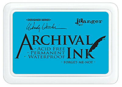 Ranger Archival Ink Stamp Pad Forget Me Not