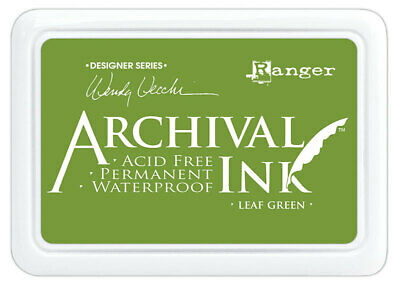 Ranger Archival Ink Stamp Pad Leaf Green