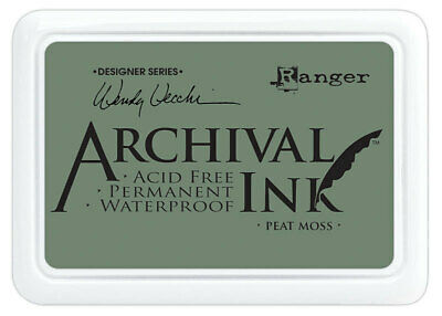 Ranger Archival Ink Stamp Pad Peat Moss