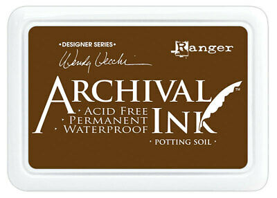 Ranger Archival Ink Stamp Pad Potting Soil