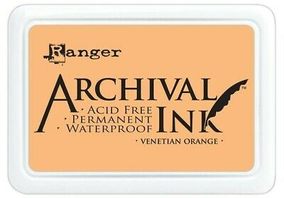 Ranger Archival Ink Stamp Pad Venetian Orange