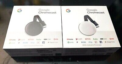 Google Chromecast 3rd Generation HDMI Streaming Media Device Latest Version