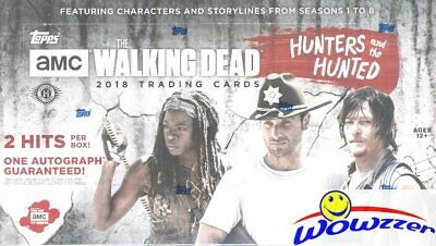 2018 Topps The Walking Dead The Hunters and the Hunted Sealed HOBBY Box-2 HITS