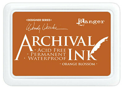 Ranger Archival Ink Stamp Pad Orange Blossom