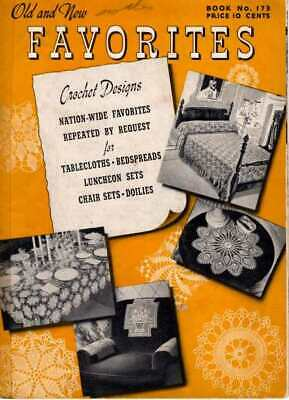 TABLE Bedspread Crochet Patterns LUNCHEON Chair DOILIES Doily