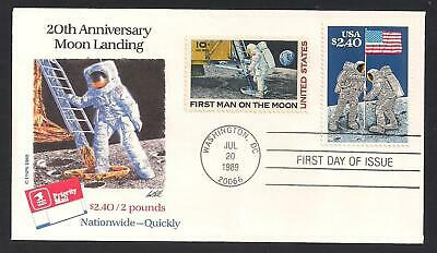 APOLLO 11 - MOON LANDING - FIRST MAN ON THE MOON - 20th ANNIVERSARY - PRIORITY