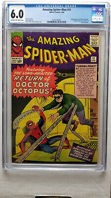 Amazing Spider-Man #11 CGC 6.0 Fine  2nd Appearance Doctor Octopus