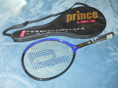 New Vintage Prince Mono Tennis Racquet & Bag Signed By Jimmy Connors Autographed