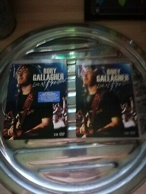 2-Disc Rory Gallagher Live At Montreux Festival Jazz/Ireland/Guitar Music Dvd
