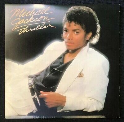 MICHAEL JACKSON Thriller Album LP 1982 Epic 1st Press QE 38112- NM Vinyl