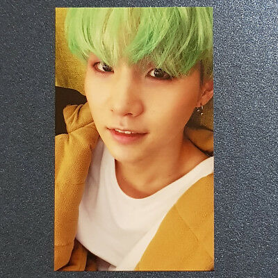 Suga - Official Photocard 4th Album in the mood for Love part 2. BTS Kpop